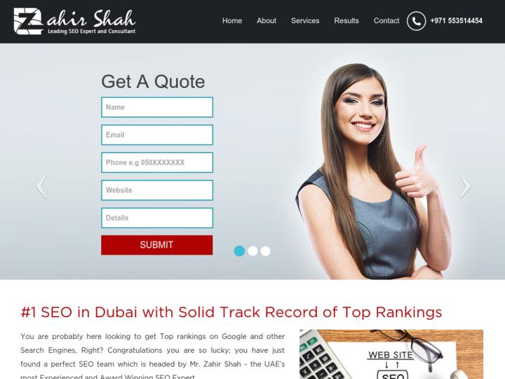 Zahir Shah - SEO Dubai