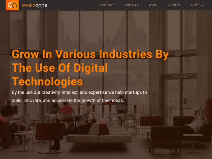 Casia Apps: IT Consulting Firms | Digital marketing agency