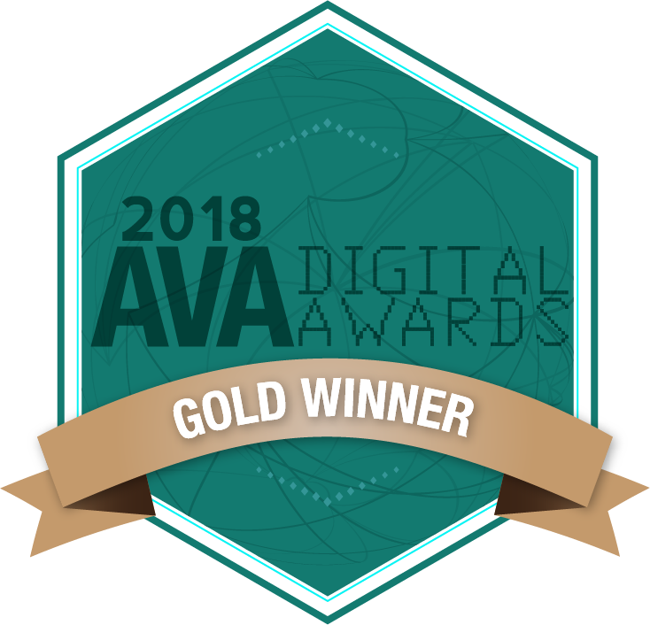Ava Digital Awards Gold Winner