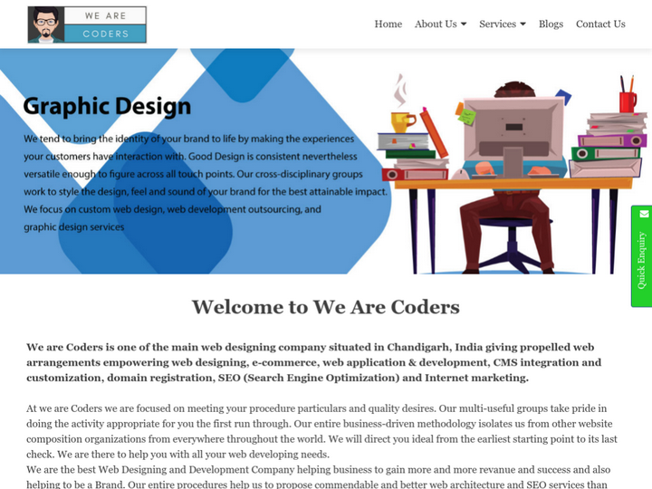We Are Coders - Web Design and Development Services
