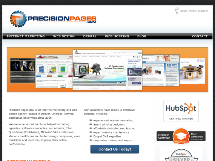Precision Pages