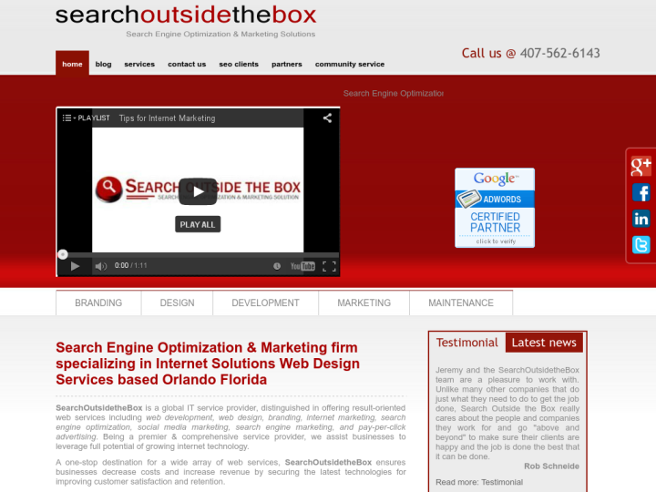 Search Outside The Box