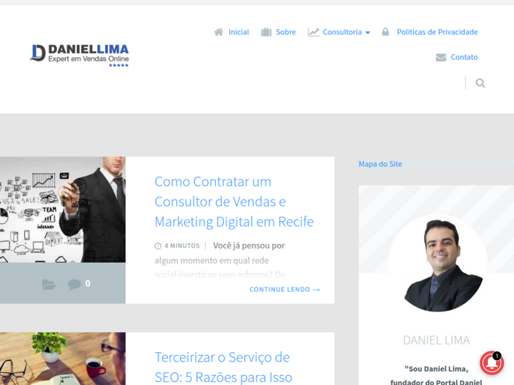 Daniel Lima - Consultor de Marketing Digital