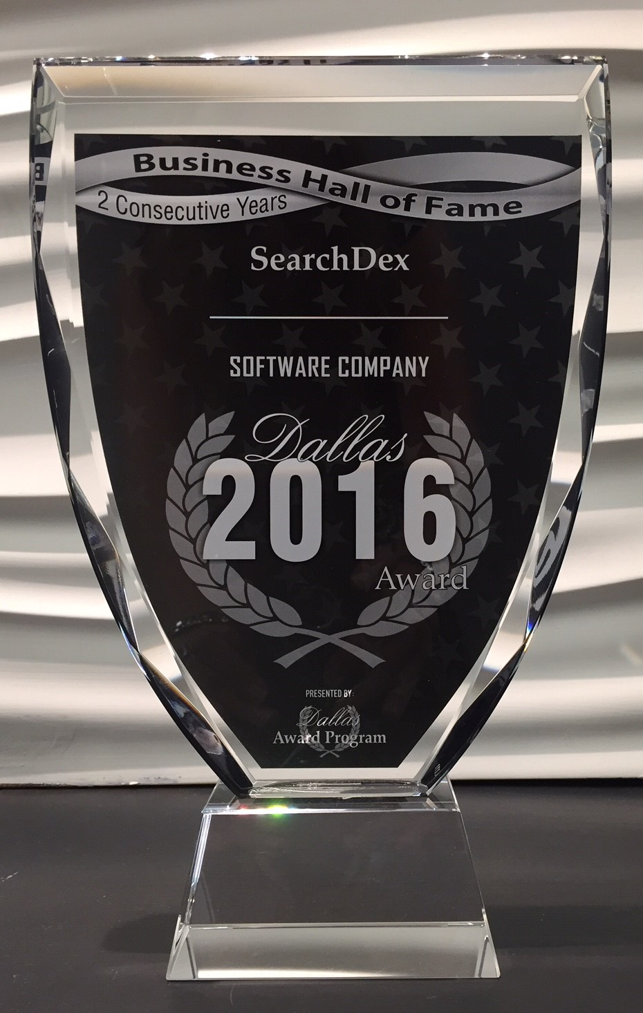 SearchDex Receives 2016 Dallas Award