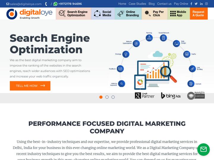 DigitalOye | Digital Marketing Agency