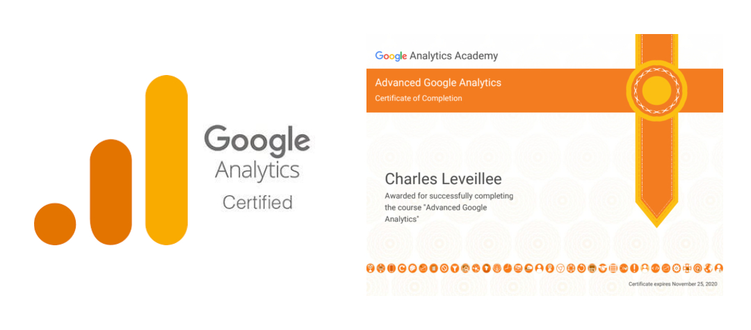 Advanced Google Analytics Certified