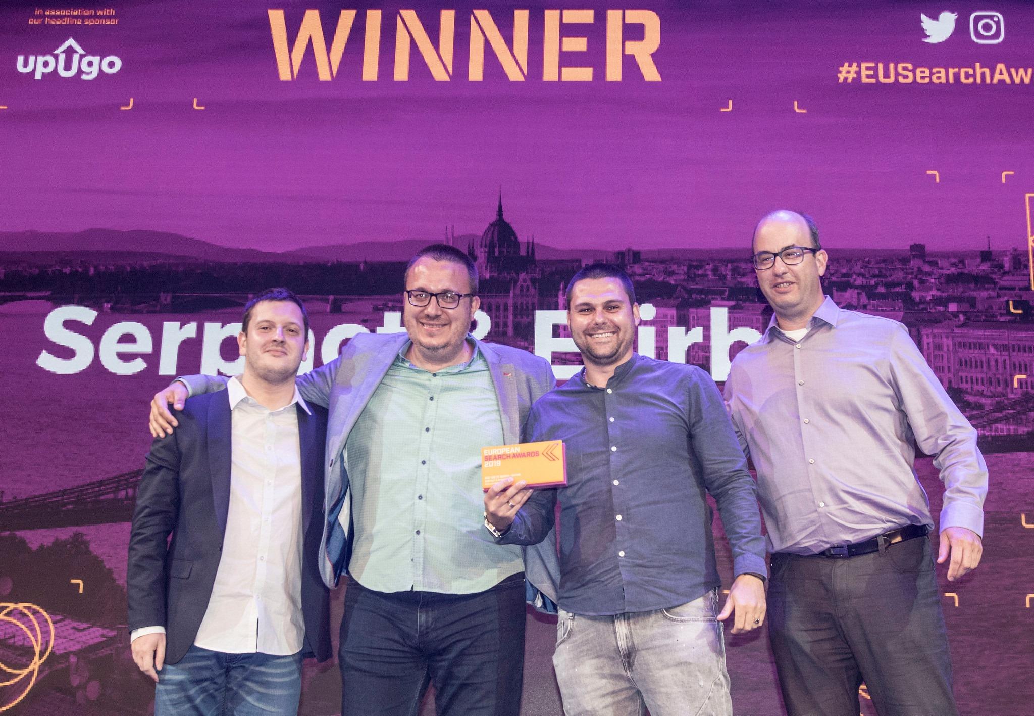 European Search Awards 2019