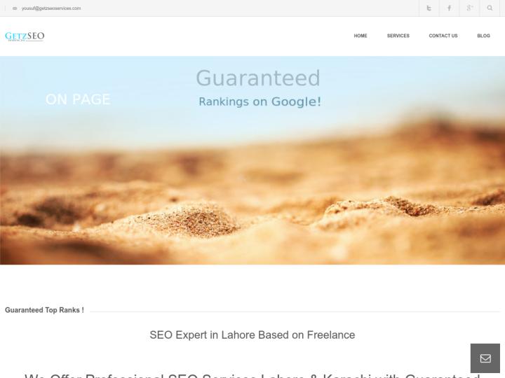 Getz Seo Services