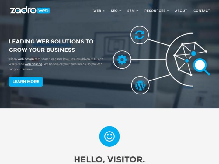 Zadro Web