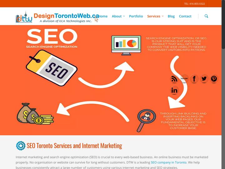 DesignTorontoWeb.ca