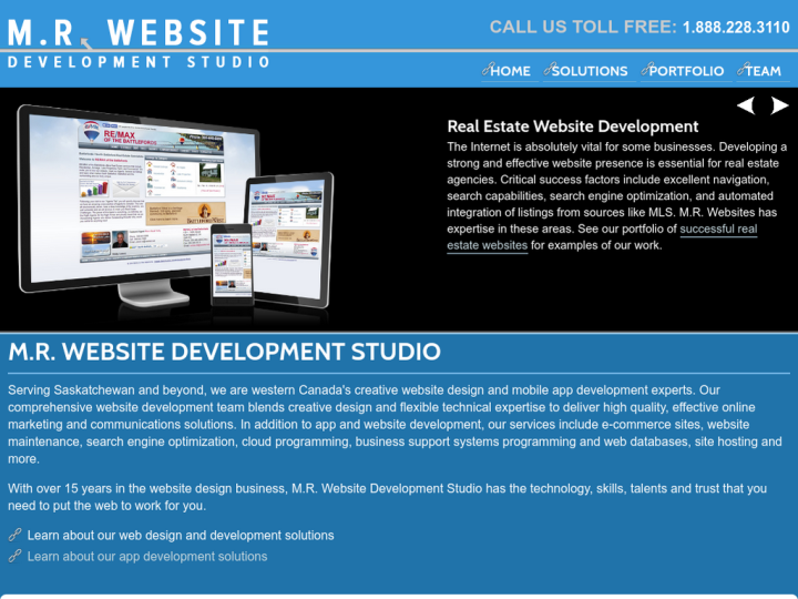 M.R. Website Development Studio