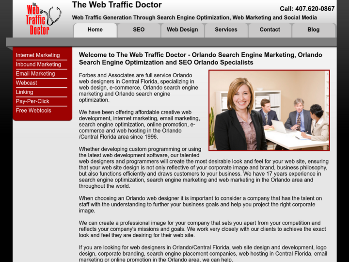 Web Traffic Doctor Internet Marketing