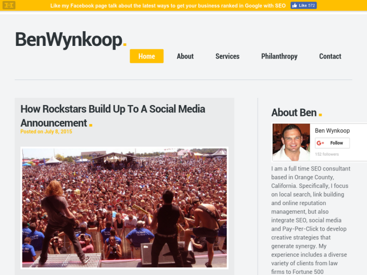 Ben Wynkoop SEO