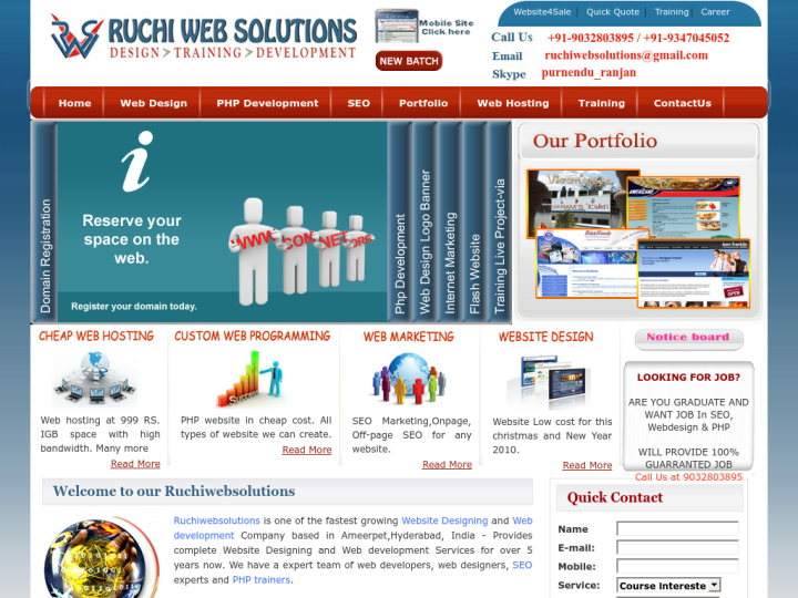 Ruchi Web Solutions
