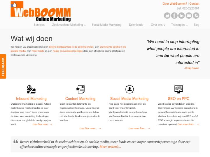 WebBoomm Online Marketing