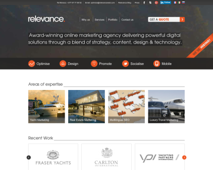 Relevance Web Marketing