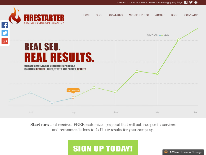 Firestarter Search Engine Optimization