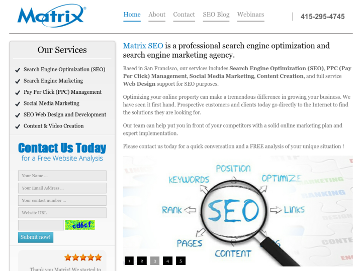 Matrix SEO