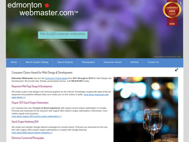 Edmonton Webmaster