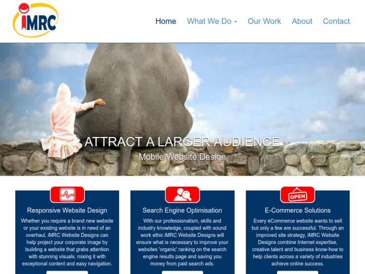 iMRC Website Designs