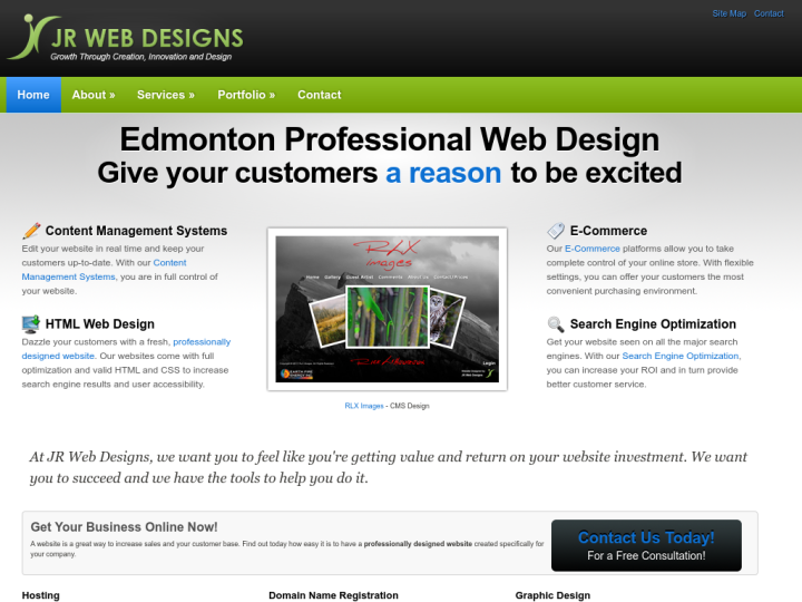 JR Web Designs