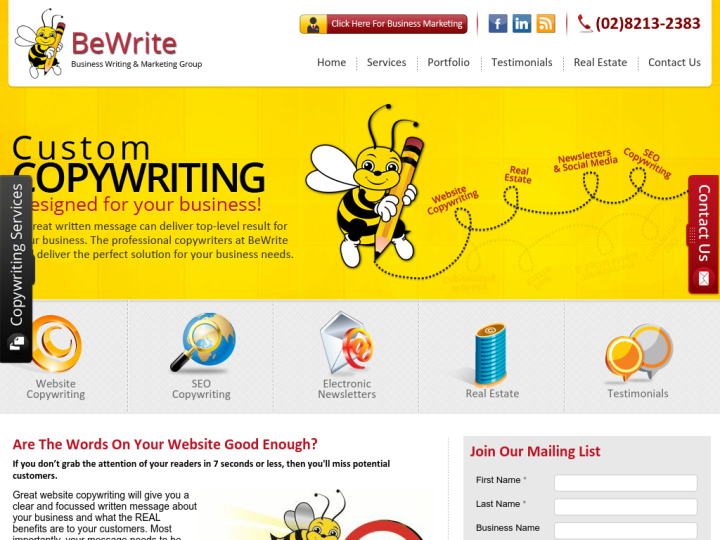 Be Write
