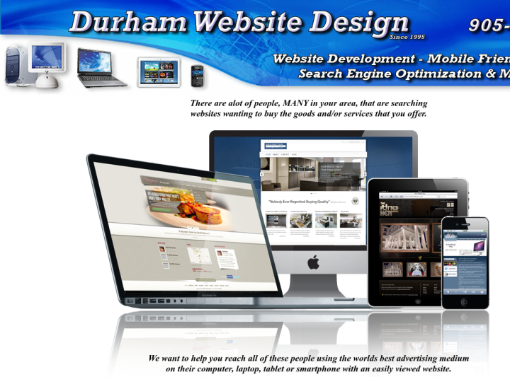 Durham Website Design
