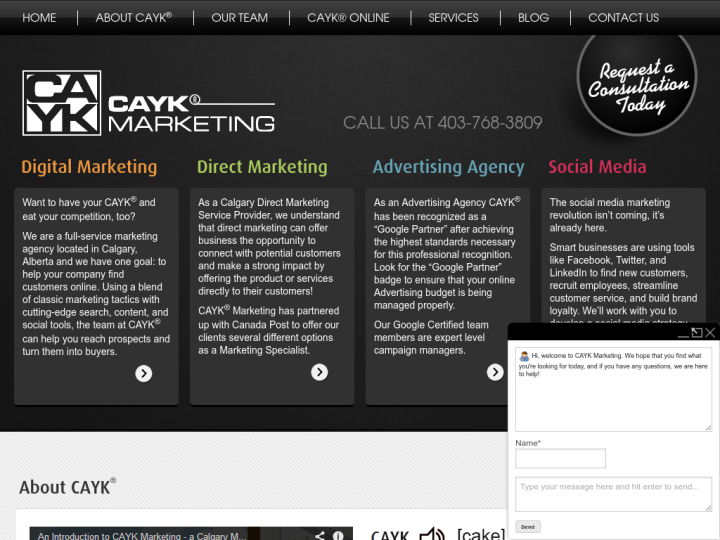 CAYK Marketing Inc