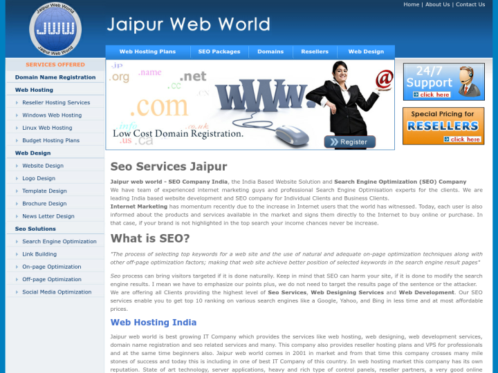 Jaipur Web World