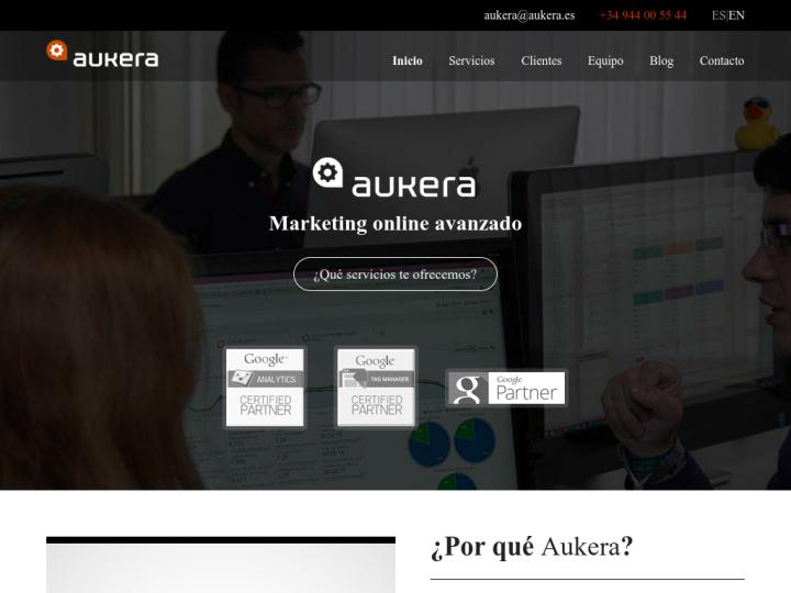Aukera Marketing Online