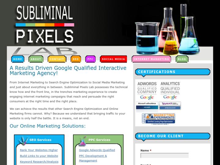 Subliminal Pixels Lab
