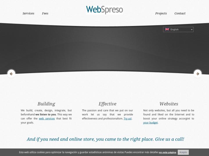 Web Spreso