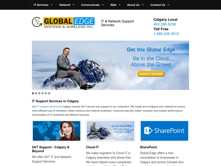 Global Edge Systems & Wireless Inc.