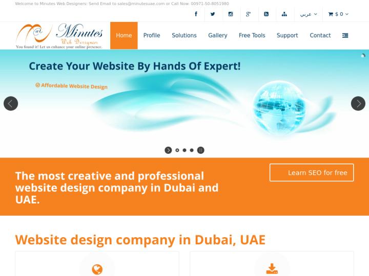 Minutes Web Designers