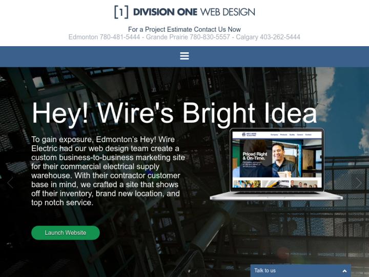 Division 1 Web Design