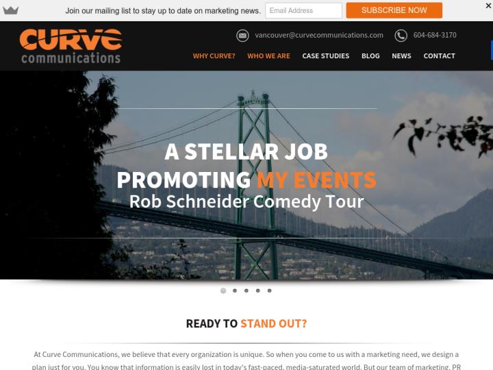 Curve Communications Group Ltd.