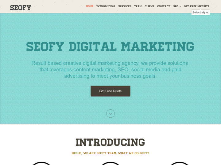 Seofy Inc