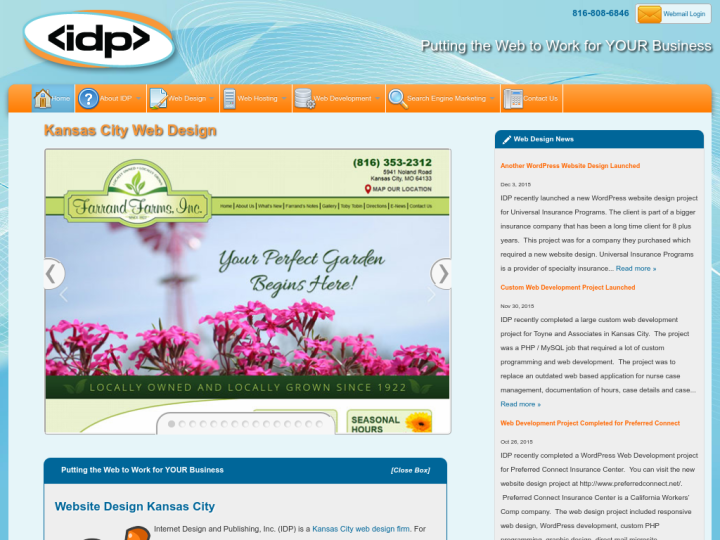 Internet Design and Publishing Inc
