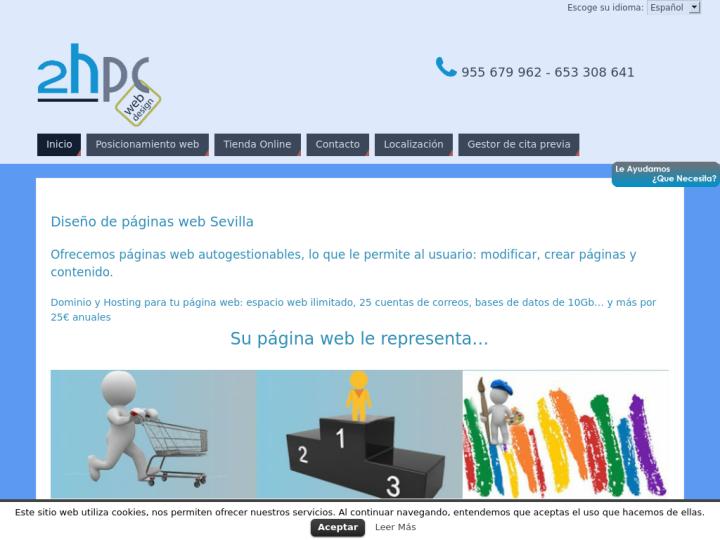 2hpc Web