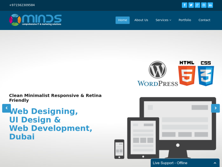 Minds - Web Solution Company