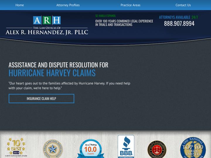 Alex R. Hernandez Jr. Trial Lawyers