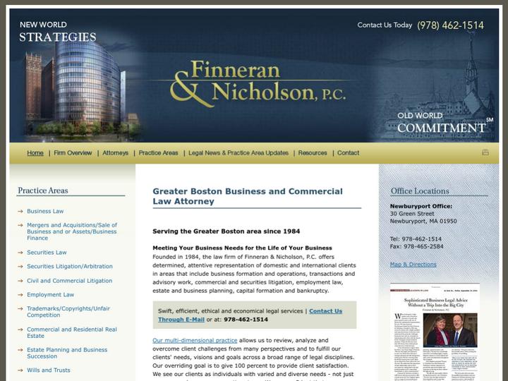 Finneran & Nicholson P.C.