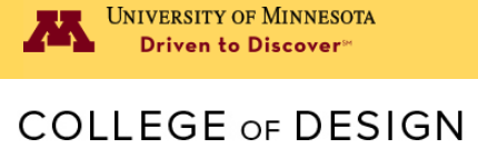 University of Minnesota College of Design