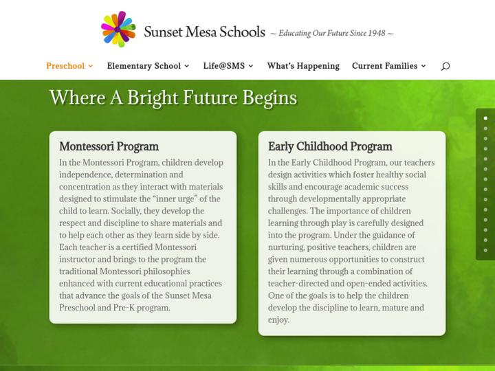 Sunset Mesa School
