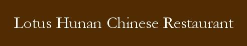 Lotus Hunan Chinese restaurant