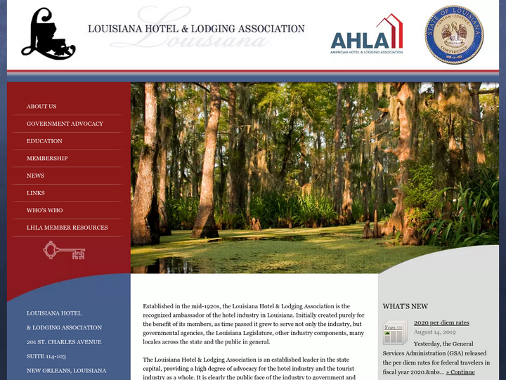 Louisiana Hotel & Lodging Association