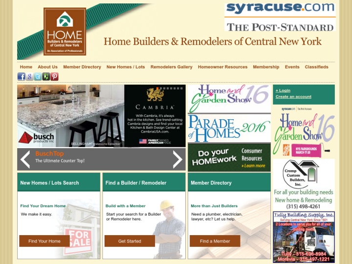 Home Builders & Remodelers of Central
