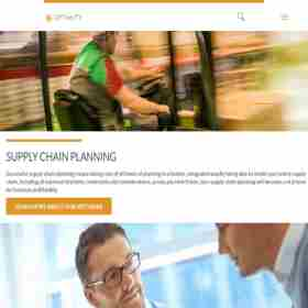 Optimity Supply Chain Planning Software