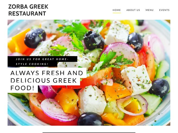 Zorba Greek Restaurant