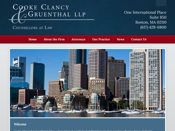 Cooke Clancy & Gruenthal LLP